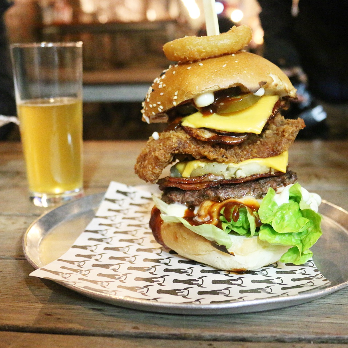 The Beer And Burger Bar Olive Sundays